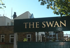 the swan pub chiswick