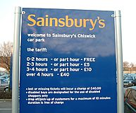 Free Parking to Continue at Sainsbury's Chiswick