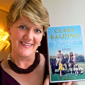 clare balding married