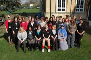 Chiswick School Women Race for Life
