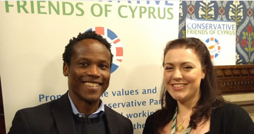 ron mushiso at friends of cyprus event